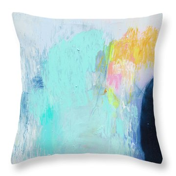 Hold My Breath Throw Pillow