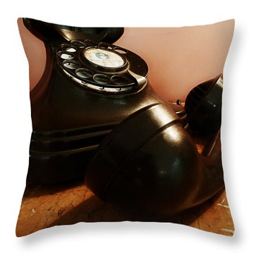 Hold On Throw Pillow by Osvaldo Hamer