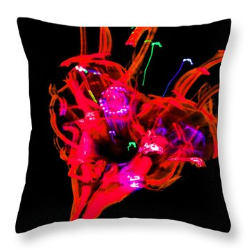Hole In My Heart Throw Pillow