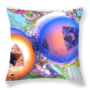 Holiday Celebrations Throw Pillow