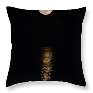 Holiday Magic - Lunar Art Throw Pillow