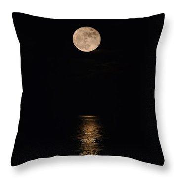 Holiday Magic - Lunar Art Throw Pillow