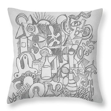 Holiday Thoughts Throw Pillow
