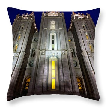 Holiness To The Lord Throw Pillow