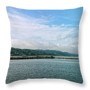 Throw Pillow featuring the photograph Holland Michigan by Lars Lentz
