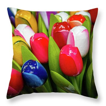 Holland Souvenir Throw Pillow