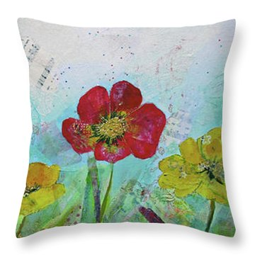 Holland Tulip Festival I Throw Pillow