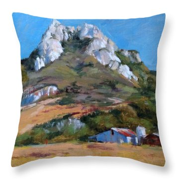Hollister Peak Throw Pillow