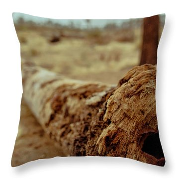 Hollow Lines Throw Pillow