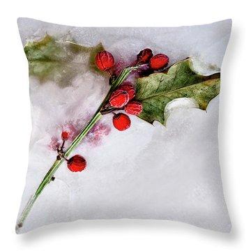 Holly 4 Throw Pillow