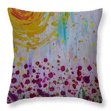 Hollynation Throw Pillow