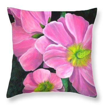 Holly's Throw Pillow