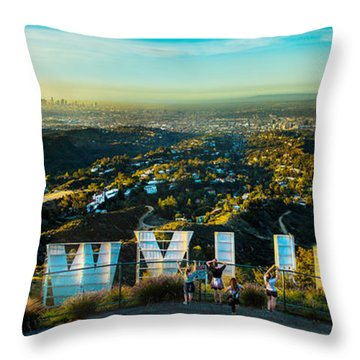 Hollywood Dreaming Throw Pillow