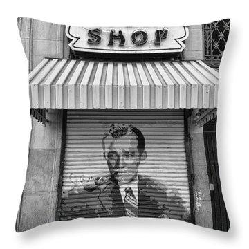 Hollywood Smoke Shop Throw Pillow