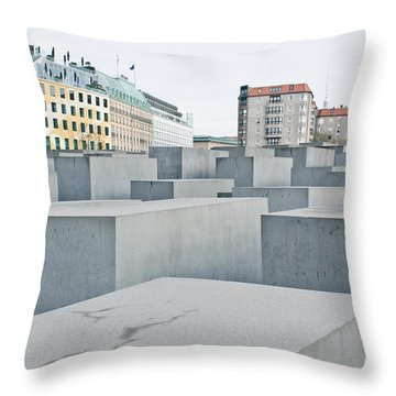 Holocaust Memorial Throw Pillow