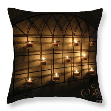 Throw Pillow featuring the photograph Holy by Beauty For God
