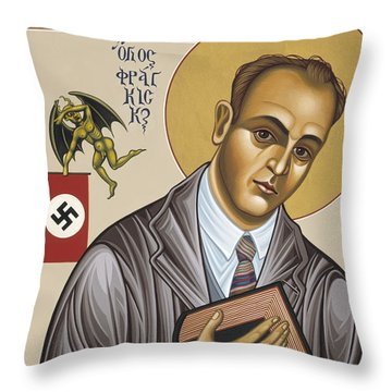Holy Blessed Martyr Franz Jagerstatter 049 Throw Pillow