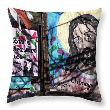 Holy Chile Throw Pillow