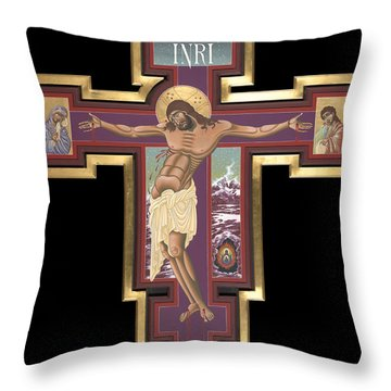 Holy Cross Of The New Advent 162 Throw Pillow