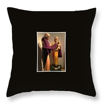 Holy Family - Lent Throw Pillow