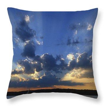 Holy Grail - Lake Geneva Wisconsin Throw Pillow