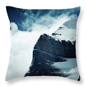 Holy Kailas West Slop Himalayas Tibet Artmif.lv Throw Pillow