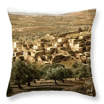 Holy Land - Bethany  Throw Pillow