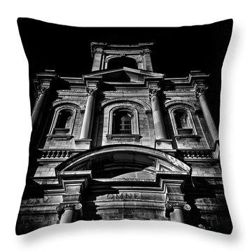 Throw Pillow featuring the photograph Holy Name Parish No 71 Gough Ave Toronto Canada by Brian Carson