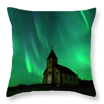 Holy Places Throw Pillow