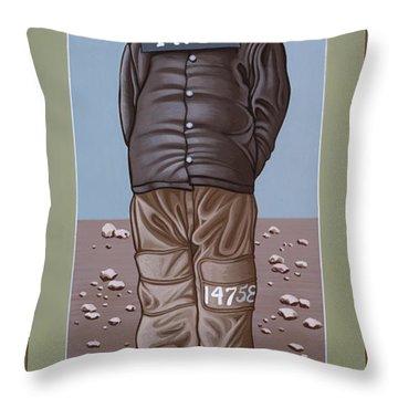 Holy Prophet Benjamin Salmon 083 Throw Pillow