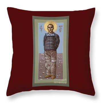 Holy Prophet Benjamin Salmon 083 Throw Pillow