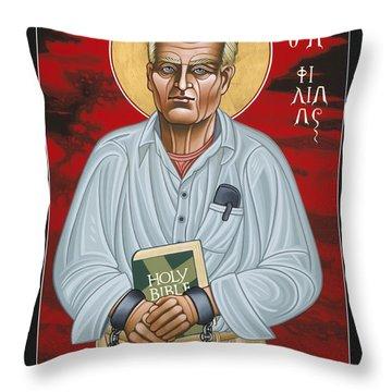Holy Prophet Philip Berrigan 125 Throw Pillow