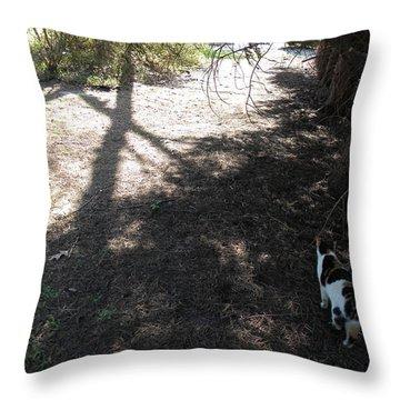 Holy Spirit Morning Throw Pillow