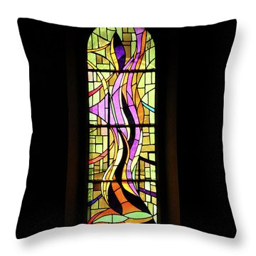 Throw Pillow featuring the photograph Holy Spirit by Rasma Bertz