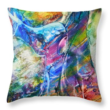Holy Surrender Throw Pillow