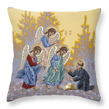 Holy Theologian Bernard Lonergan 122 Throw Pillow