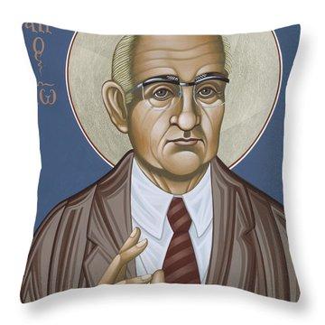 Holy Theologian Hans Urs Von Balthasar 110 Throw Pillow