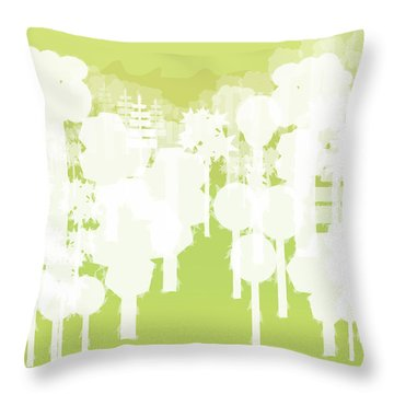 Holy Vale Throw Pillow by Kevin McLaughlin