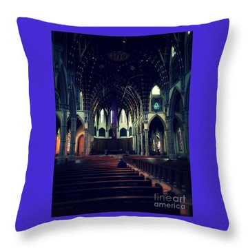 Holy Week Throw Pillow