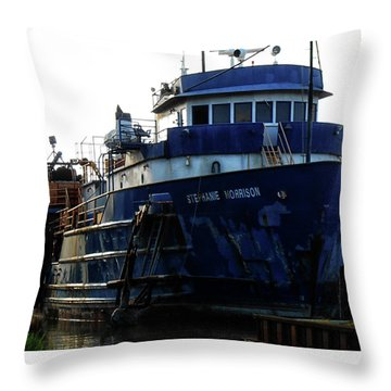 Homa La Throw Pillow by Cynthia Powell