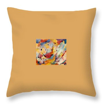 Homage A Kandinsky Throw Pillow