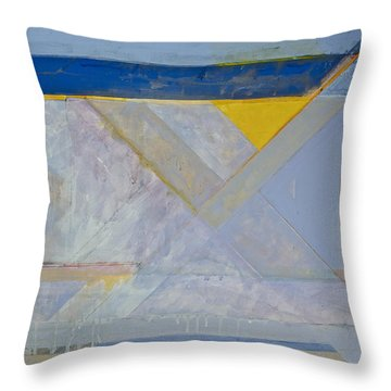 Homage To Richard Diebenkorn's Ocean Park Series  Throw Pillow