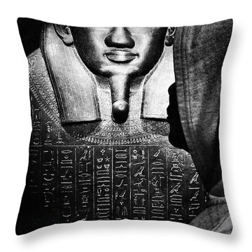 Homage To The General Throw Pillow