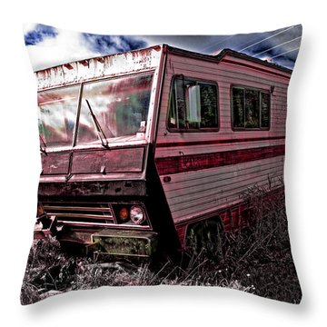 Home Away From Home Throw Pillow