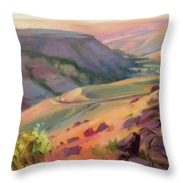 Home Country Throw Pillow