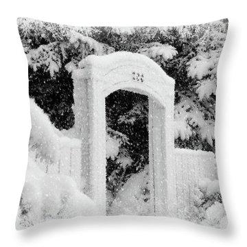 Home For Christmas Throw Pillow