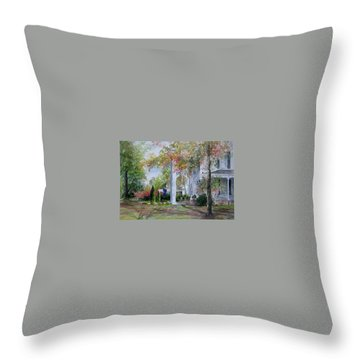 home in Cheraw Throw Pillow
