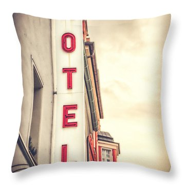 Home Is Home Throw Pillow