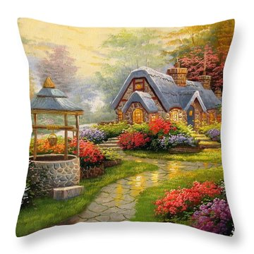 Home Is Where You Find Real Love Throw Pillow