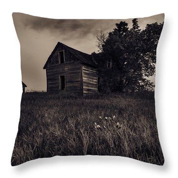 Home No More Throw Pillow